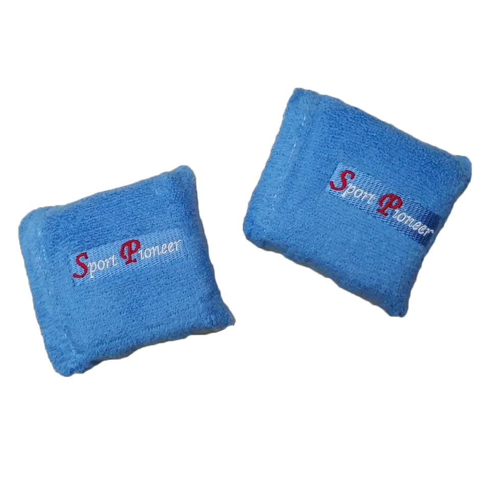 ปลอกแขนถ่วงน้ำหนักแบบยาง 0.6kg (สีฟ้า) ช่วยเพิ่มความแข็งแกร่งกล้ามเนื้อ