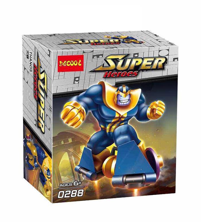 0288 มินิฟิกเกอร์ Thanos จอมวายร้ายทานอส