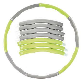 ฮูล่าฮูปแบบคลื่น หนัก1.2 KG สีเขียว-เทา