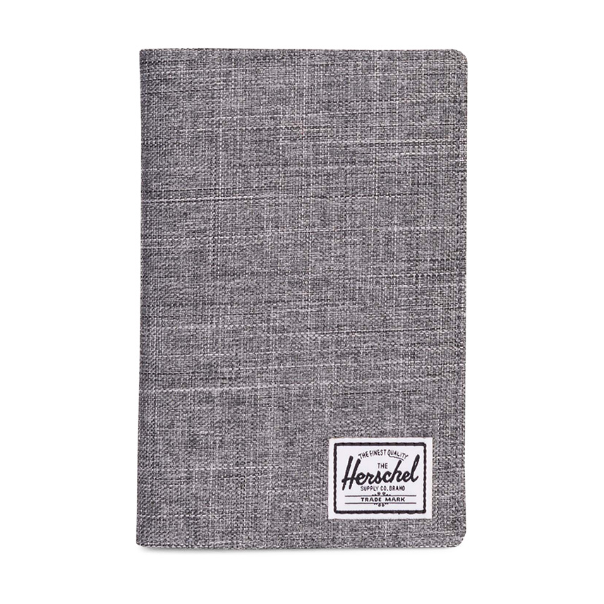 Herschel Search Passport Holder - Raven Crosshatch / RFID