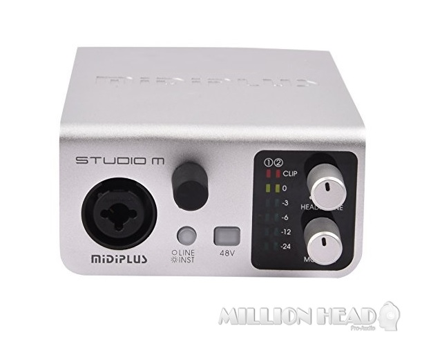 Midiplus Studio M ( 24 bit 192K Audio Interface )