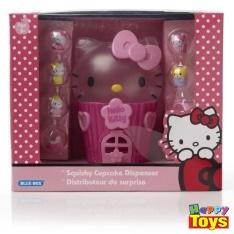 kitty squishy cupcake dispenser คิตตี้ชุดบ้านขนมเค้ก