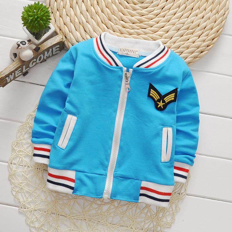 เสื้อกันหนาวสีฟ้า [size 3y]