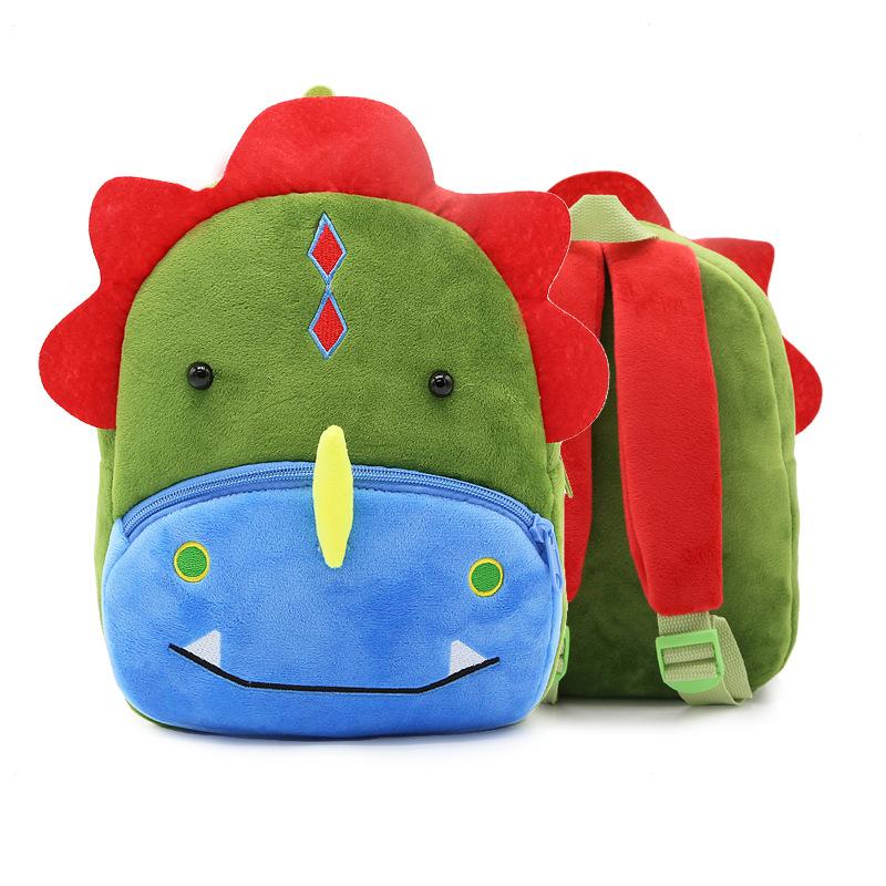 กระเป๋าไดโนเสาร์สีเขียว แพ็ค 3 ชิ้น