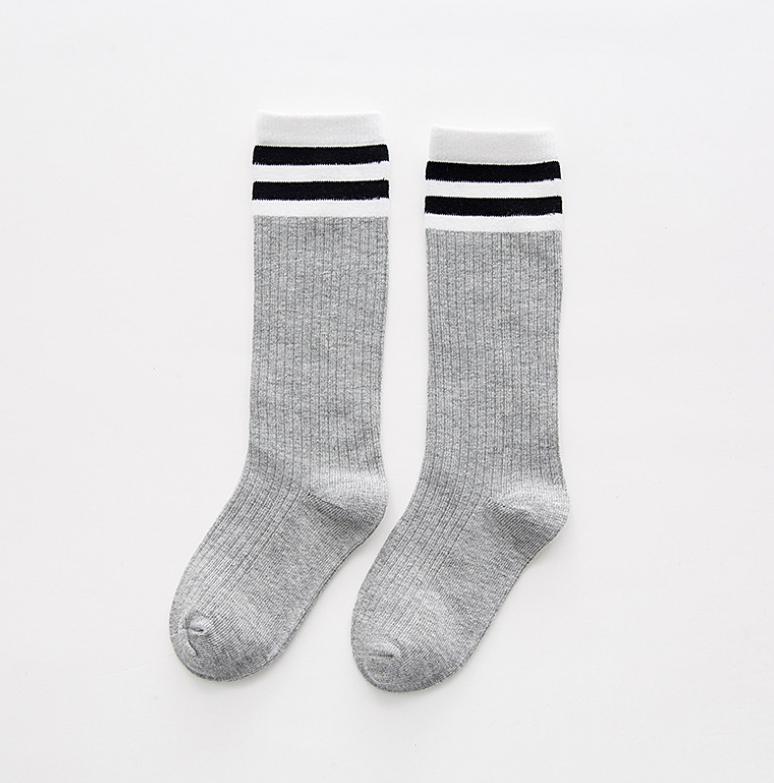 ถุงเท้าสั้น สีเทา แพ็ค 10 คู่ ไซส์ S (อายุ 1-3 ปี)