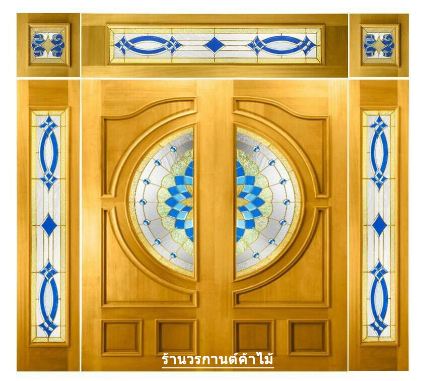 กระจกนิรภัยสเตนกลาส ชุด7ชิ้น รหัส G25