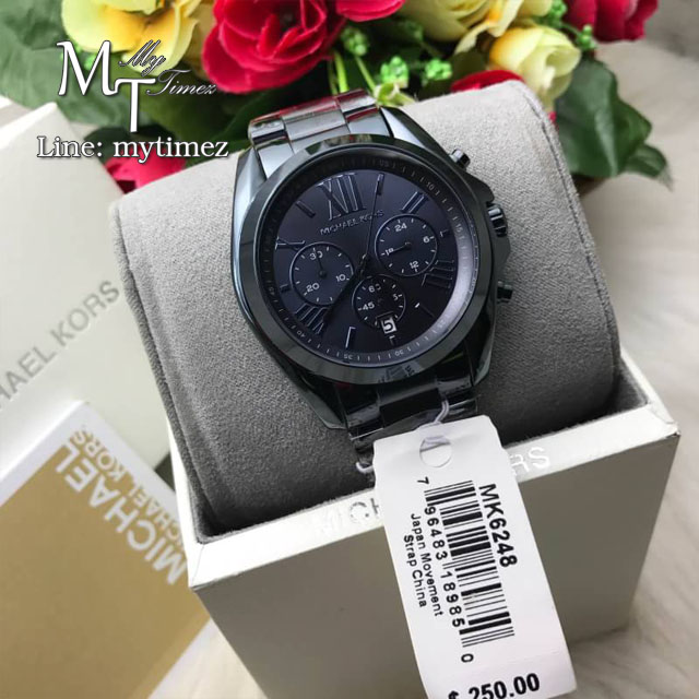 Move your mouse over image or click to enlarge Michael Kors Oversized Bradshaw Navy Blue Dial Men's Chronograph Watch MK6248 Michael Kors Oversized Bradshaw Navy Blue Dial Men's Chronograph Watch MK6248 Michael Kors Oversized Bradshaw Navy Blue