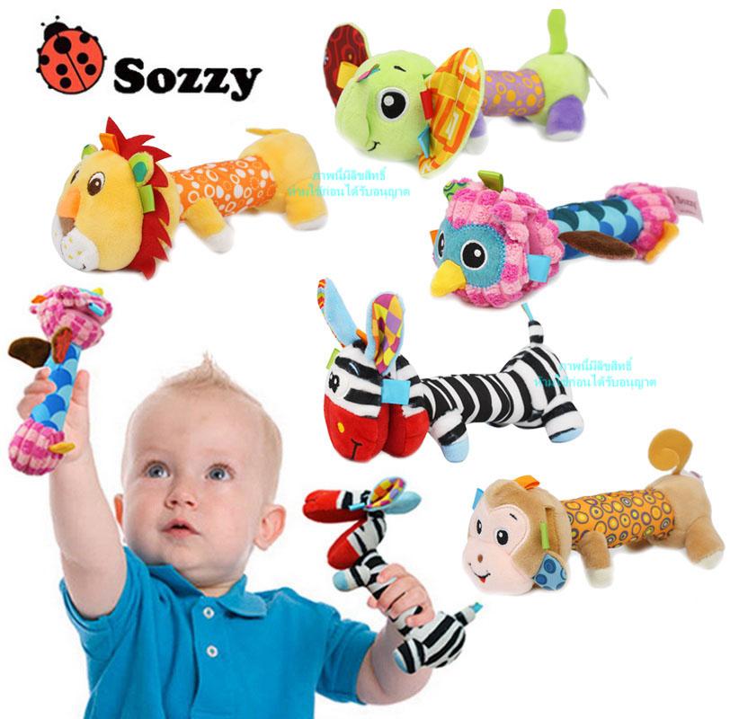 ตุ๊กตาเอวยาวหน้าเปิดบริหารมือ Sozzy