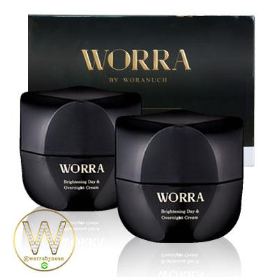 ครีมนุ่น ครีม worra by worranuch 2 กระปุก ส่งฟรี