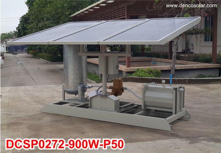 เครื่องสูบน้ำพลังงานแสงอาทิตย์รุ่น DCSP0272-900W-P50 (Full Options)