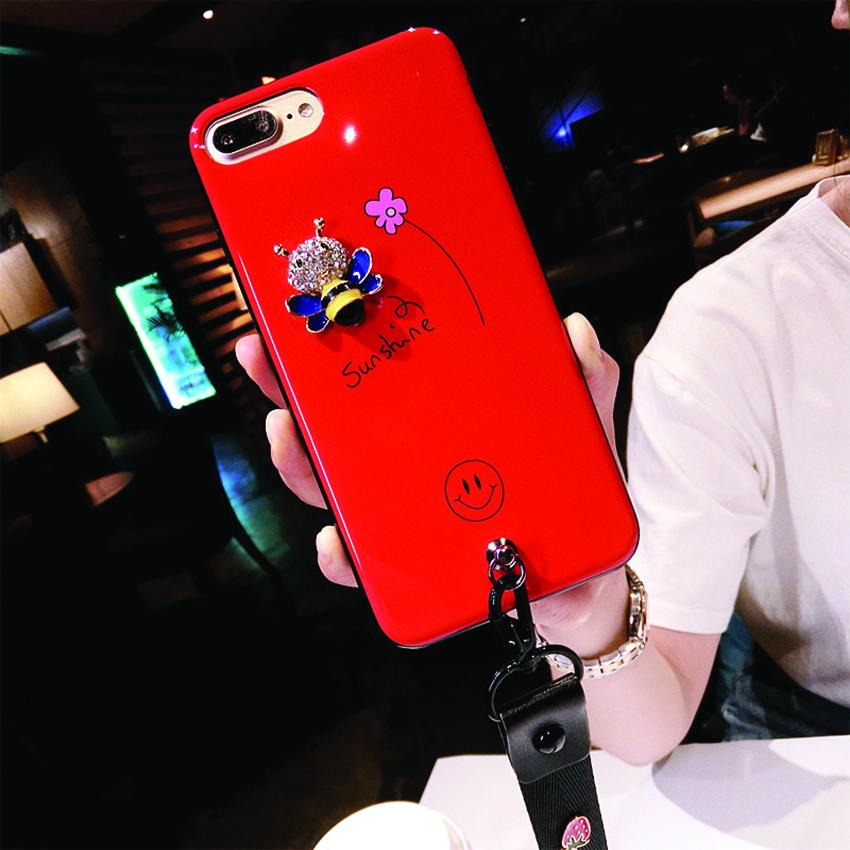 เคส iPhone Sunshine สีแดง