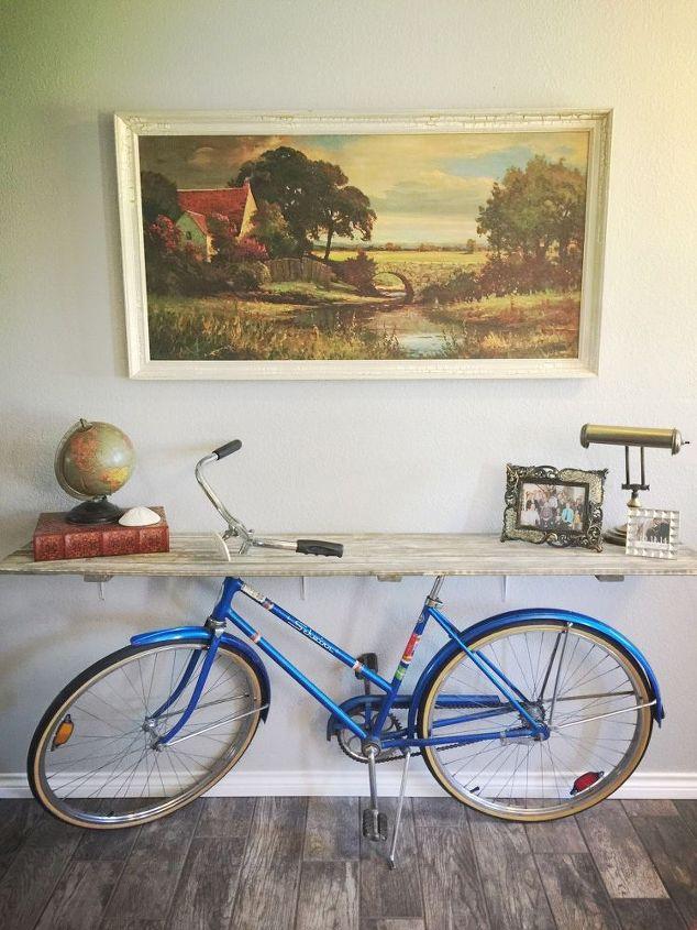 ไอเดียตกแต่งบ้านด้วยจักรยานคันเก่า 3