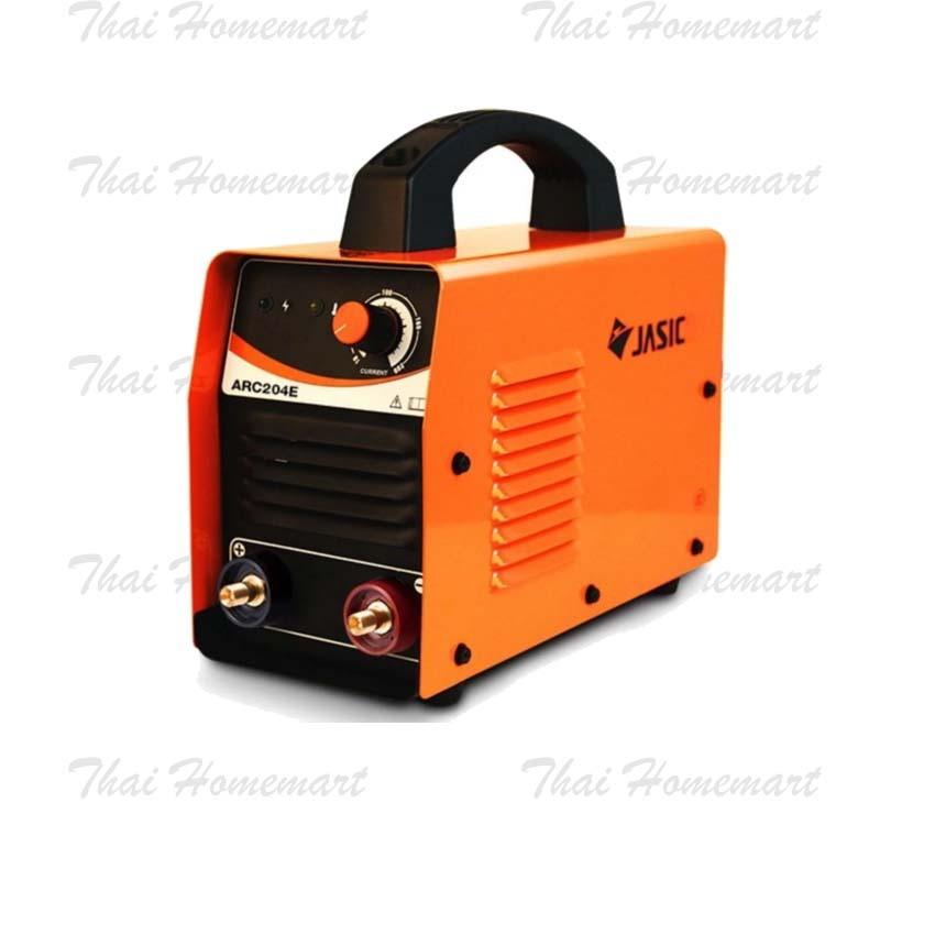 JASIC เครื่องเชื่อมไฟฟ้าระบบอินเวิร์ทเตอร์ ARC204E (MOSFET)