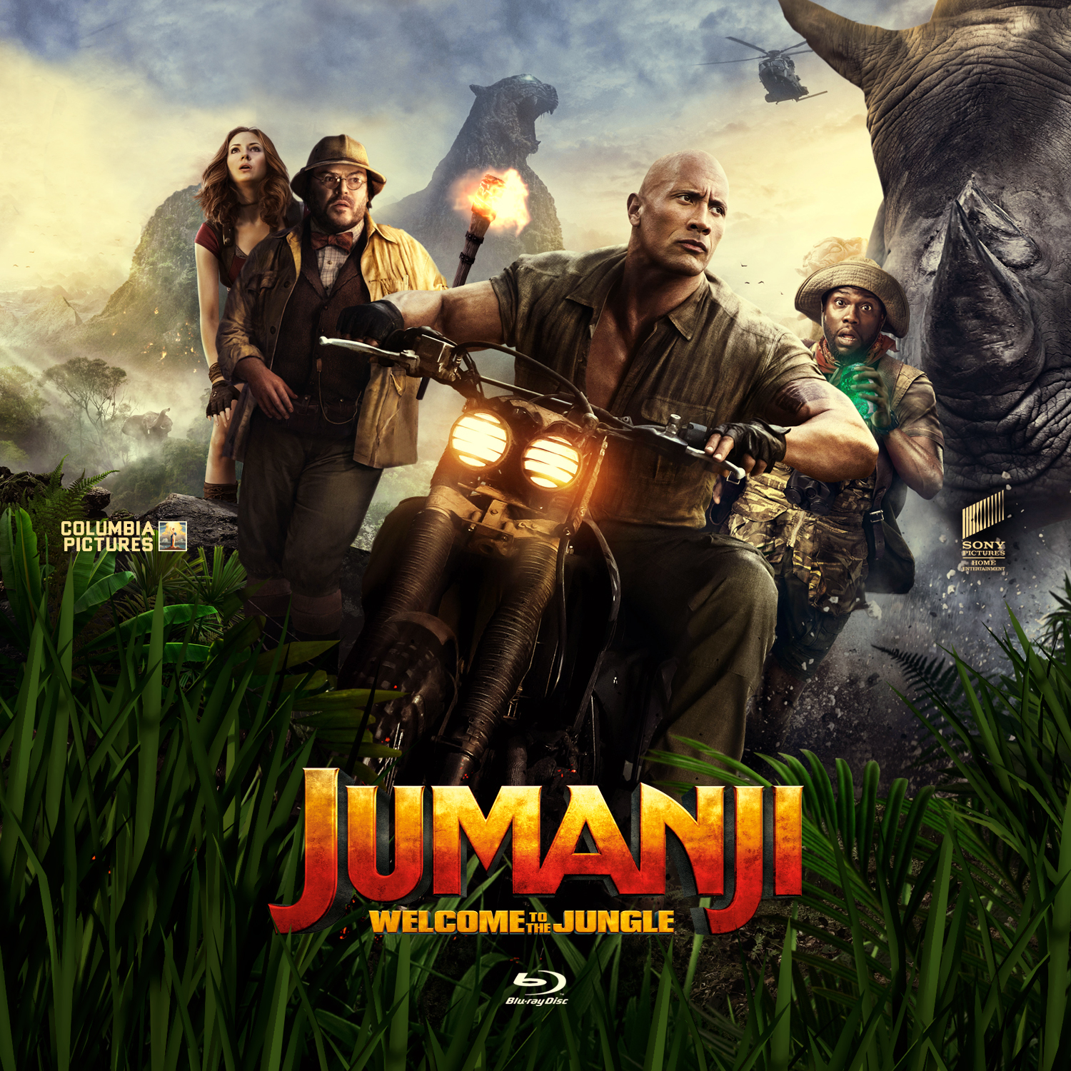 *U1747 - Jumanji (Welcome to the Jungle) (2017)