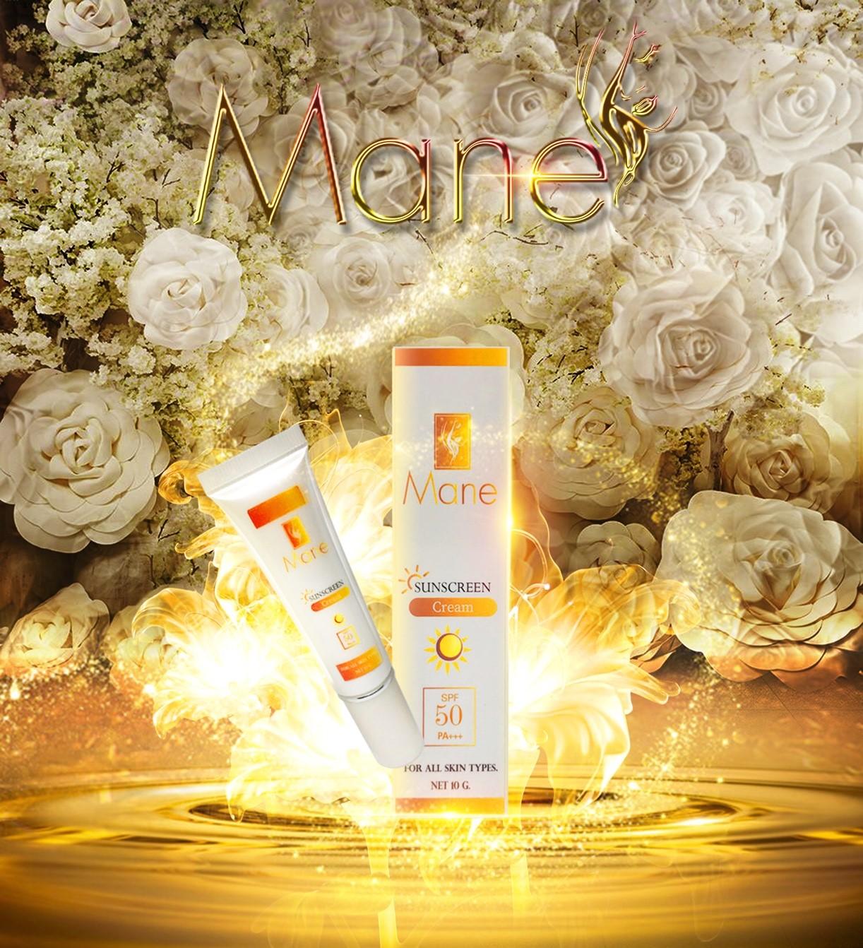 มาเน่ ซันสกีน Mane Sunscreen cream