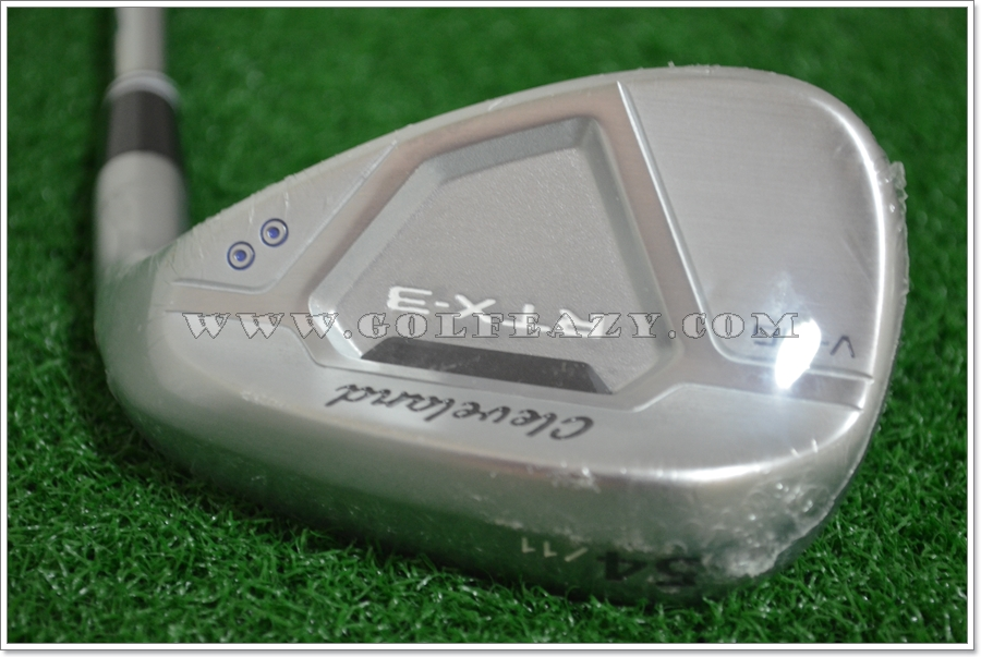 CLEVELAND RTX 3.0 V-MG SATIN CHROME WEDGE 54.11 SW FLEX WEDGE