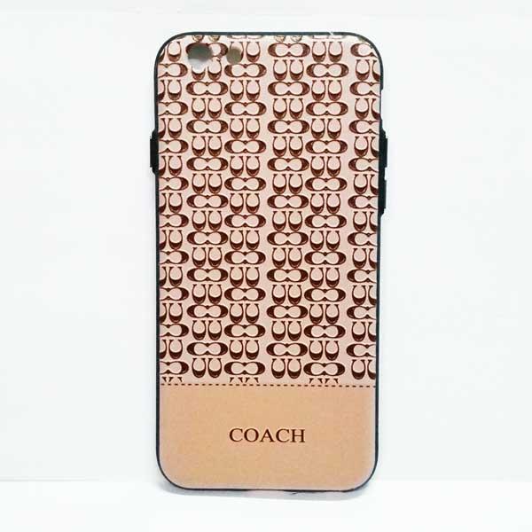เคสไอโฟน 6/6s Coach ลายพิมพ์นูน