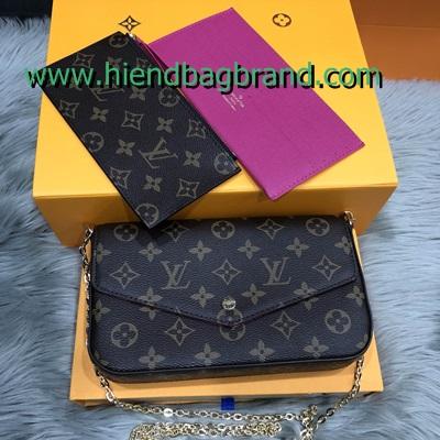 กระเป๋าแบรนด์LOUIS VUITTON crossbody bag กระเป๋าคลัช