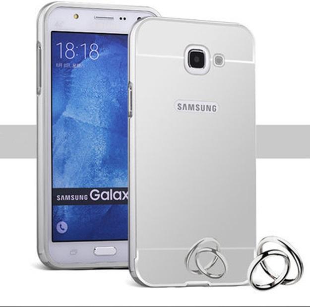 (พร้อมส่ง)เคสมือถือซัมซุง Case Samsung A5 (2016) เคสกรอบบัมเปอร์โลหะฝาหลังอะคริลิคเคลือบเงาแวว