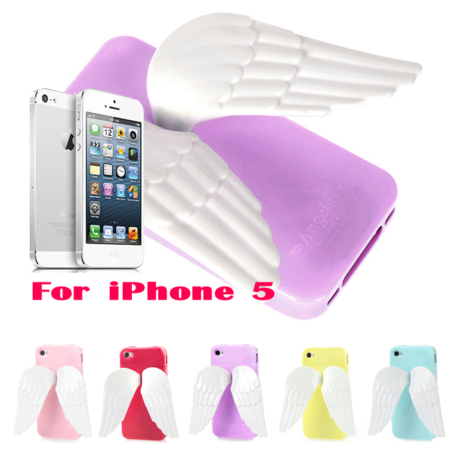 ANGELA Wing Jelly Case for Apple iPhone 5