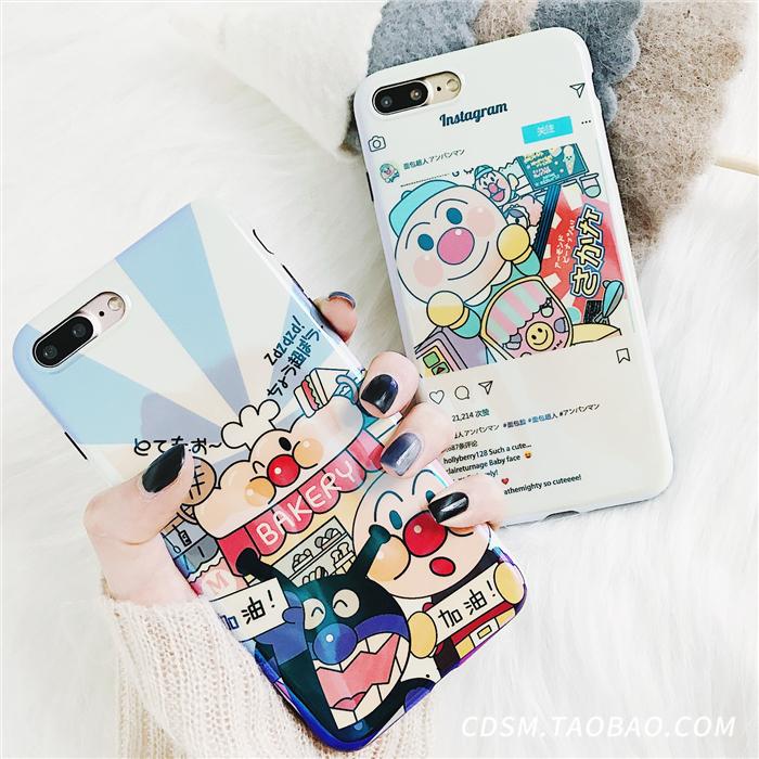(680-004)เคสมือถือไอโฟน Case iPhone 7 Plus/8 Plus เคสนิ่ม Blu-ray อันปังแมน