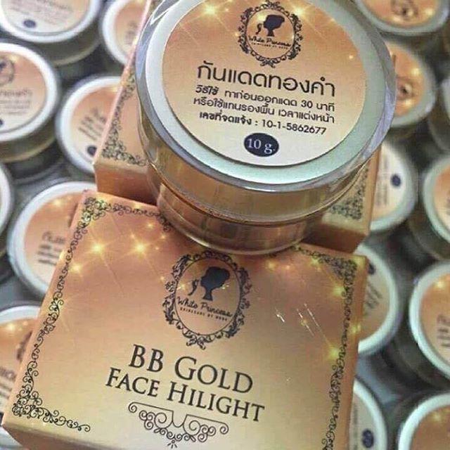 BB Gold Face Hilight กันแดดทองคำ เนื้อ BB ขนาดเล็ก 10กรัม