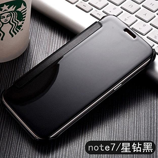 (พร้อมส่ง)เคสมือถือซัมซุง Case Samsung Galaxy Note7 เคสพลาสติกสไตล์ Clear View Cover