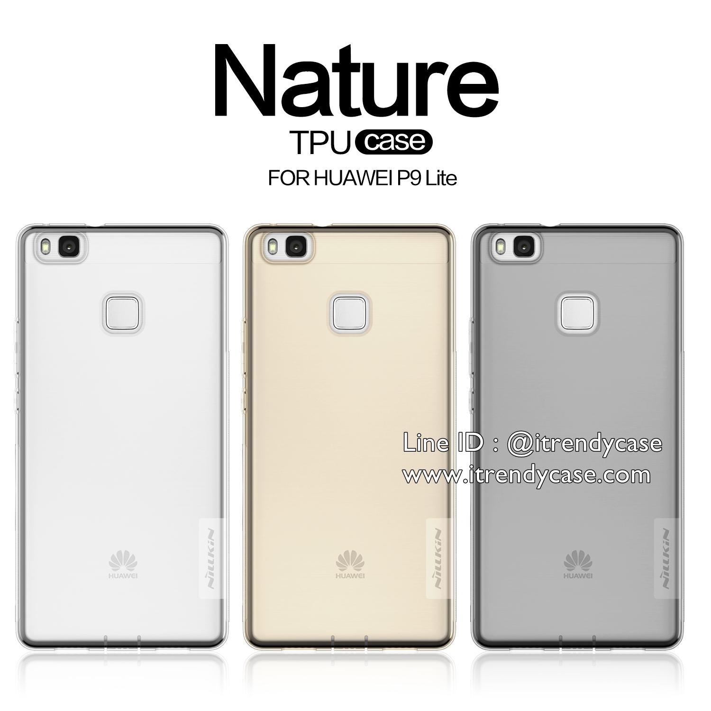 Huawei P9 Lite - เคสใส Nillkin Nature TPU CASE สุดบาง แท้