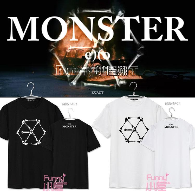 เสื้อยืด EXO EX'ACT Monster -ระบุสี/ไซต์-