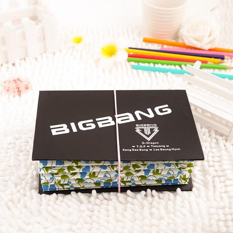 กล่องแฟ้ม A4(21cm) - BIGBANG