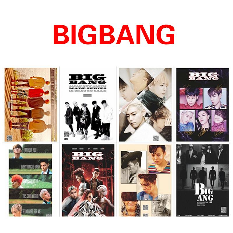โปสเตอร์เซต BIGBANG MADE HAIB167 (8แผ่น)