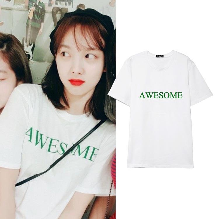เสื้อยืด AWESOME Sty.Twice -ระบุสี/ไซต์-