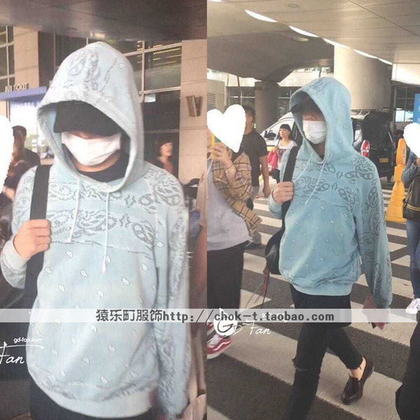 Hoodie 2015 G-Dragon -ระบุไซต์-