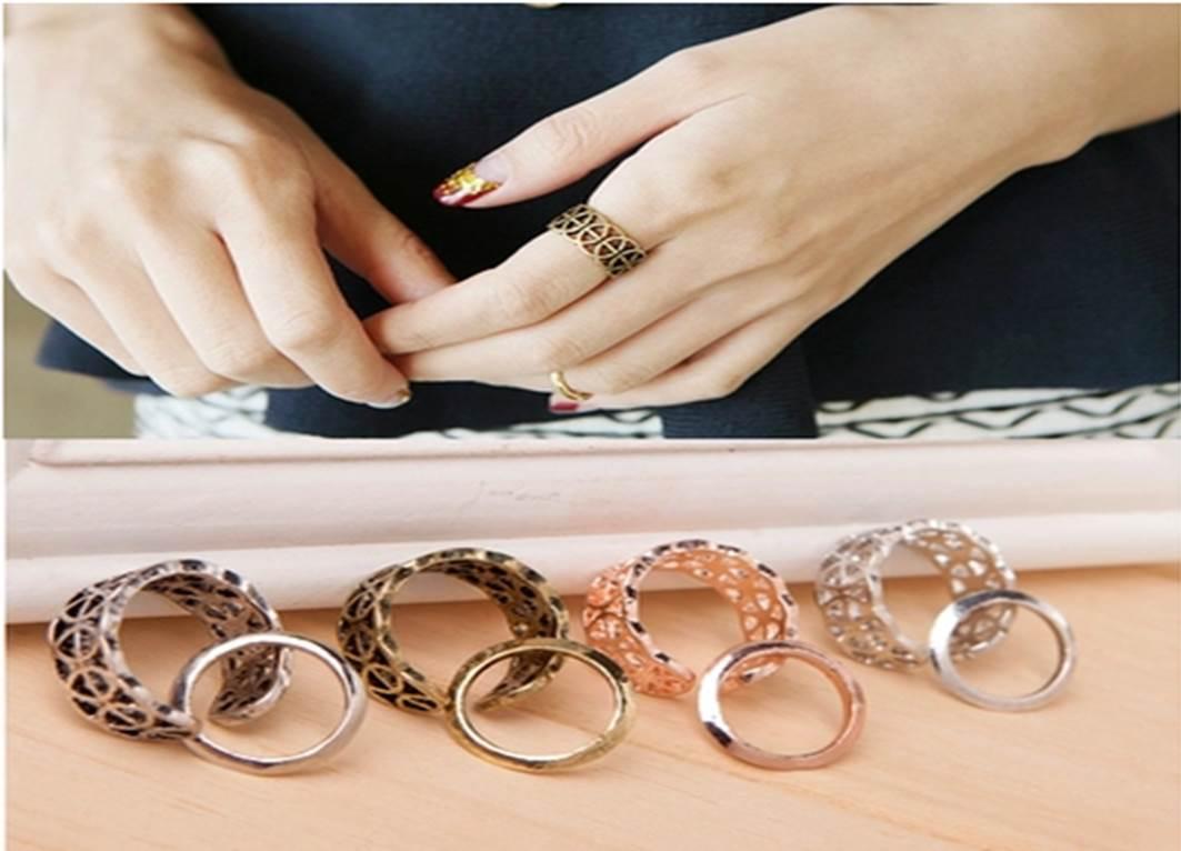 แหวนวินเทจฉลุ