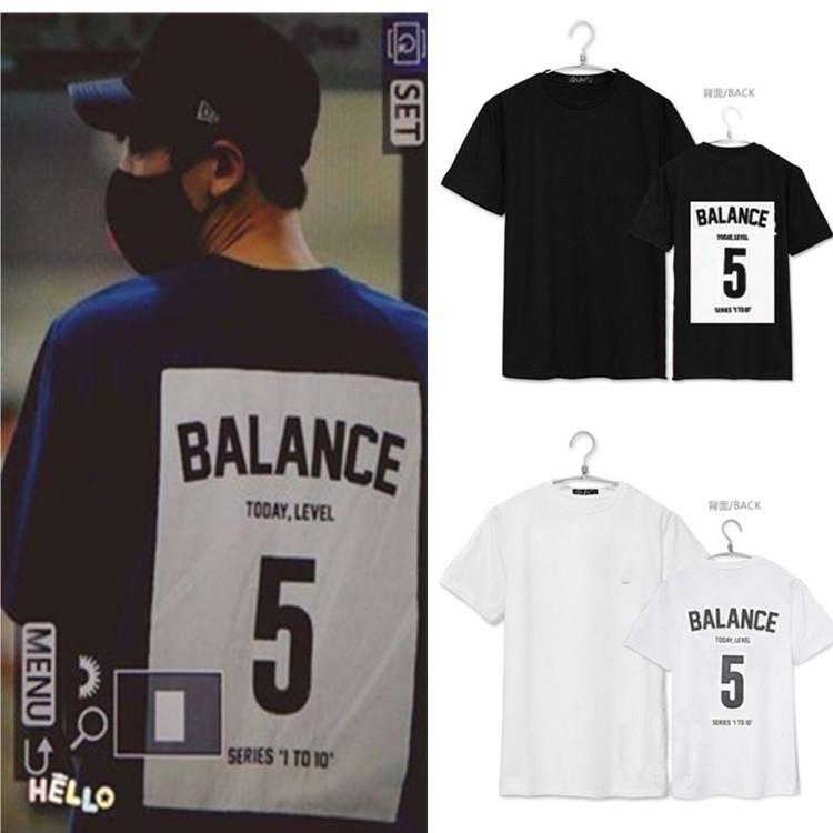 เสื้อยืด BALANCE 5 Sty.Chanyeol -ระบุสี/ไซต์-