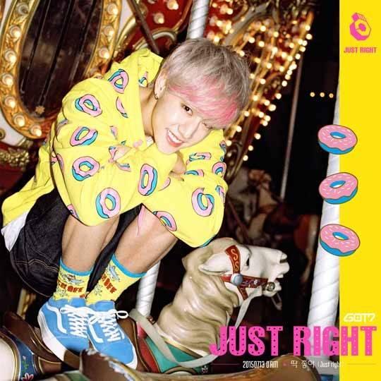 Hoodie GOT7 Mark《Just Right》MV Sty.ODD FUTURE -ระบุไซต์-