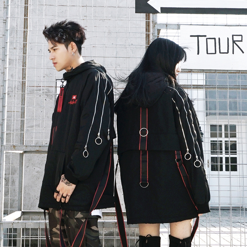 *Pre Order*Thicker winter Jacket hooded แฟชั่นญี่ปุ่นชาย/หญิง size S- M-L-XL -2XL