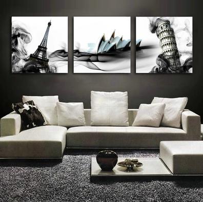 ภาพศิลปะ เมือง ดาร์ก ทาวเวอร์ Dark Tower ArtHome202
