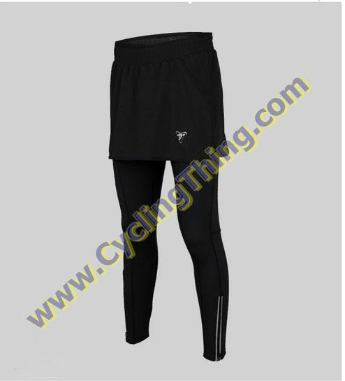 กางเกงกระโปรงปั่นจักรยานขายาว สำหรับผู้หญิง **พร้อมส่ง