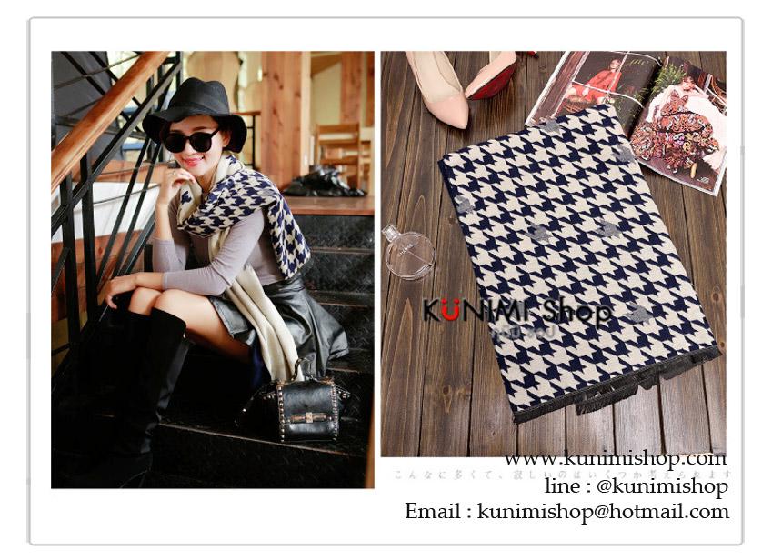 ผ้าพันคอ แฟชั่น พิมพ์ลายสวย งานดีคะ ผ้าหนา สามารถใช้พันคอ คลุมไหล่ สวยดูดี ใช้ได้ทุกโอกาส