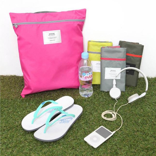 GB060 กระเป๋าผ้า ใส่รองเท้า ผ้าขนหนู ของใช้ จัดระเบียบกระเป๋าเดินทาง