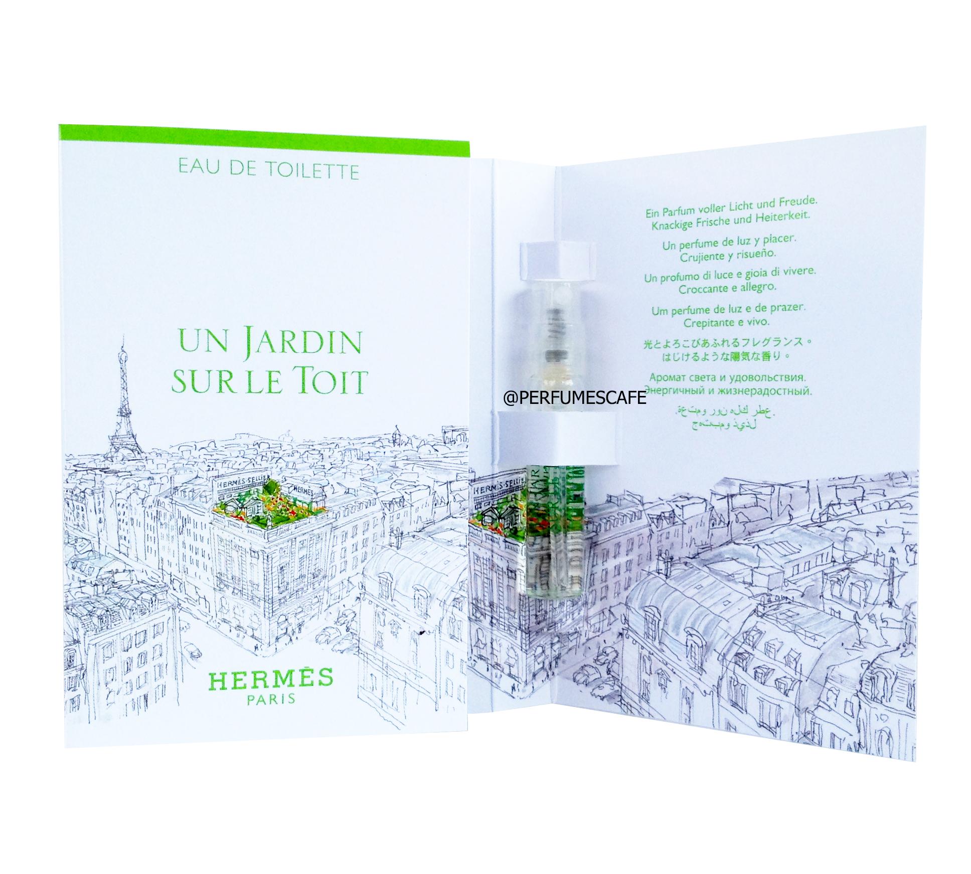 น้ำหอม Hermes Un Jardin Sur Le Toit ขนาดทดลอง 2ml