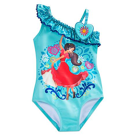 Elena of Avalor Swimsuit for Girls from Disney USA ของแท้100% นำเข้า จากอเมริกา