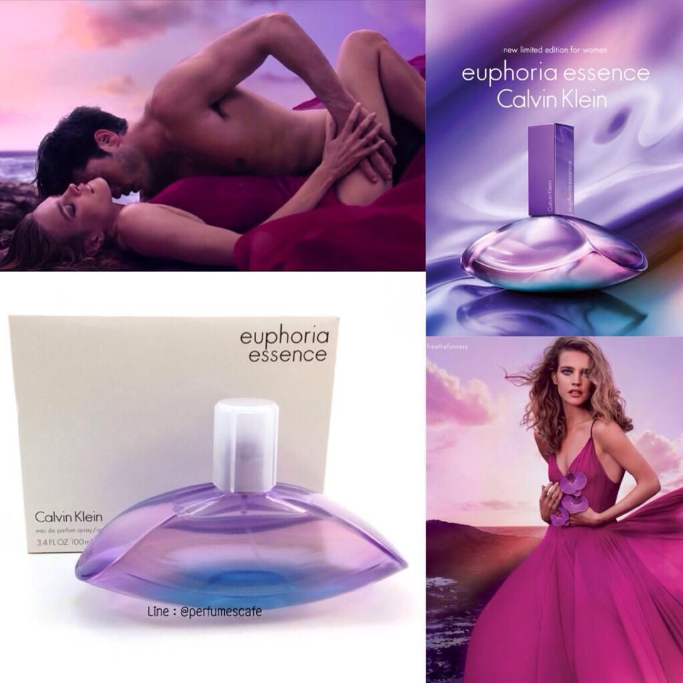กลิ่นใหม่ค่ะ Calvin Klein Euphoria Essence ขนาด 100 มิลกล่องเทสเตอร์ไม่มีฝานะคะ