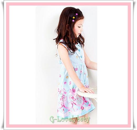 ชุดกระโปรงเด็กหญิง ชุดเด็กหญิงเจ้าหญิง ชุดกระโปรงลำลองเด็กหญิง ชุดเดรสออกงานเด็กหญิง เหมาะกับทุกฤดูกาล ขนาดไซต์ 5