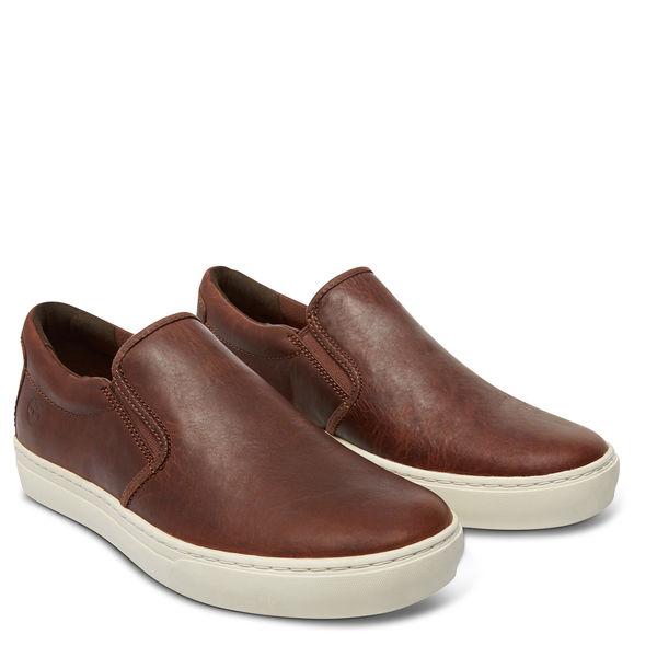 ลด ล้างสต๊อก รองเท้า Men's Earthkeepers® Adventure 2.0 Cupsole Dark Brown Leather Shoe A189Z พร้อมกล่อง