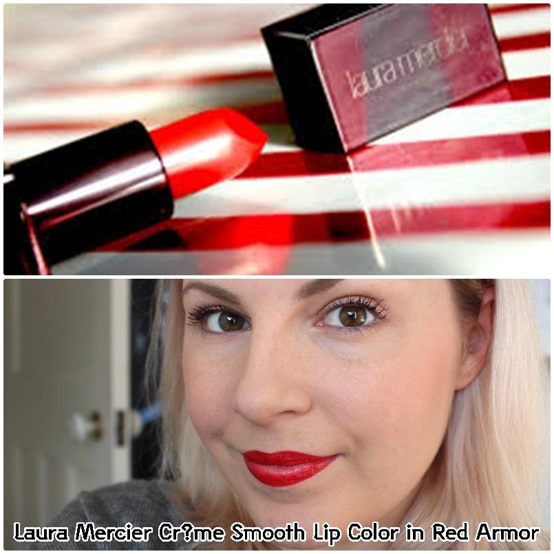 ** พร้อมส่ง + 50%** Laura Mercier Crème Smooth Lip Color in Red Armor ขนาดทดลอง 2 กรัม