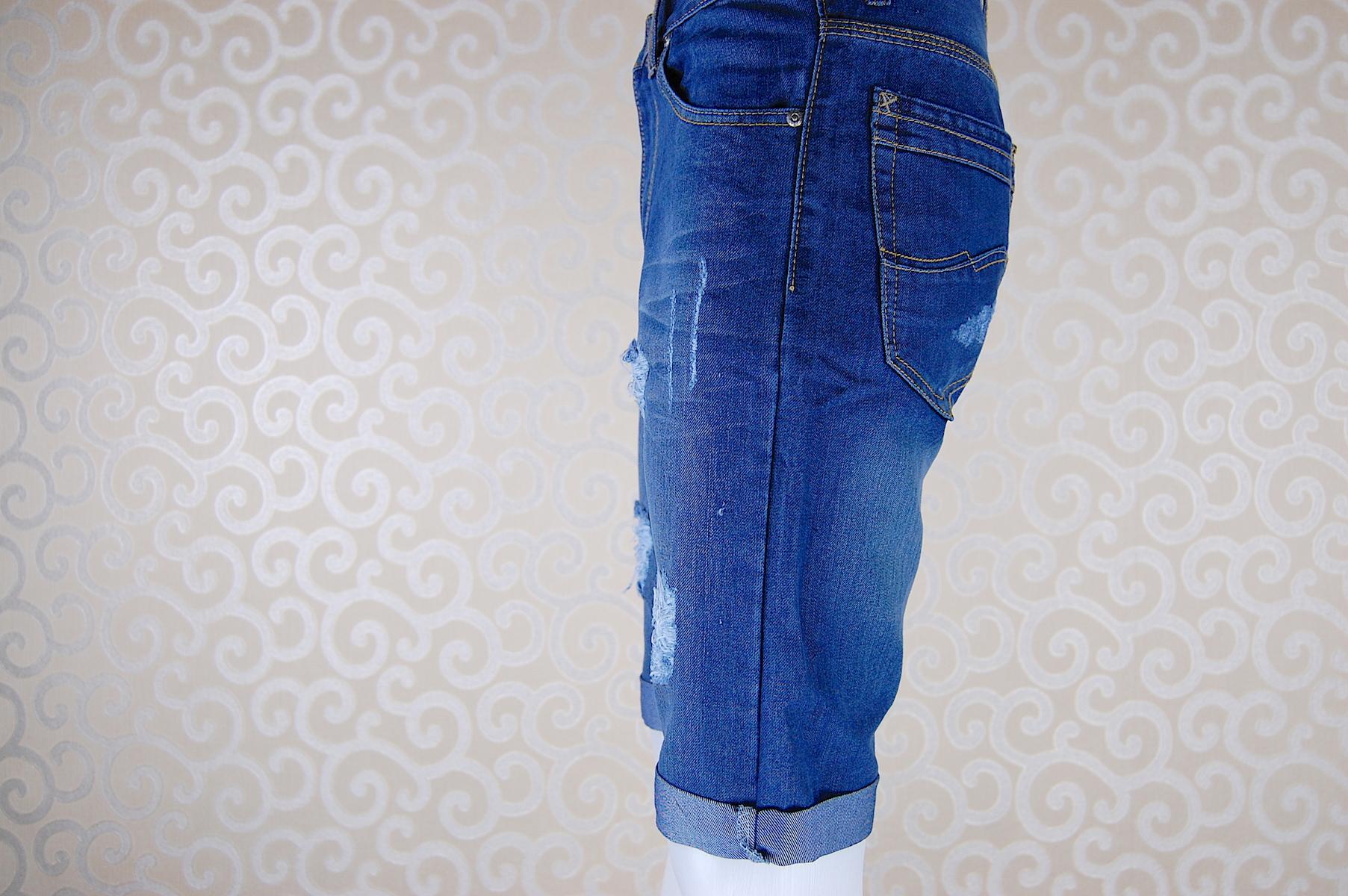 กางเกงยีนส์ขาสั้น LF401-2--2