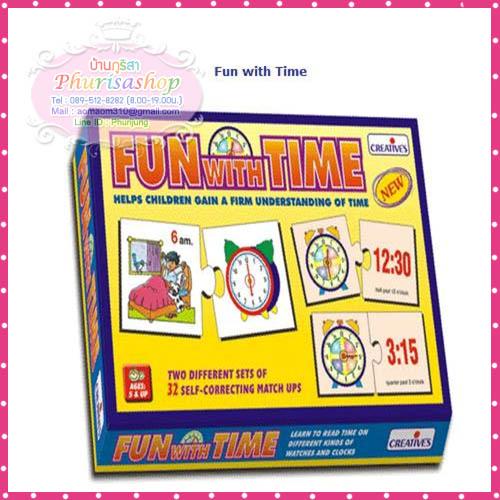 """จิกซอว์"""" Fun With Time"""""""