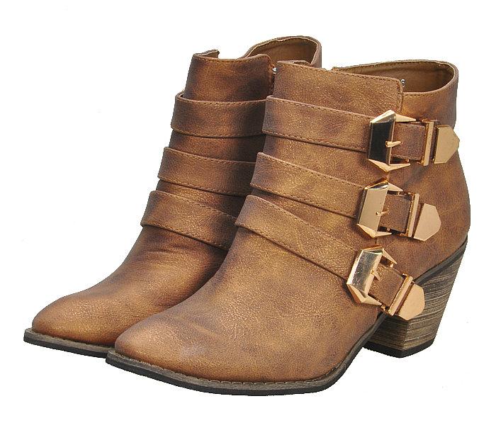 Pre Order - รองเท้าบูทแฟชั่น ส้นสูง หัวเข็ม ซิปด้านข้าง สี : สีทอง / สีเทา / สีดำ